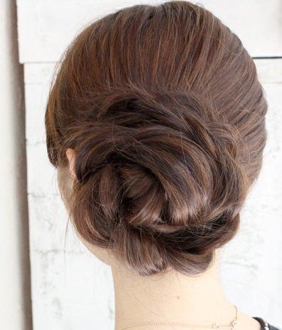 ほどいても可愛いヘアスタイル