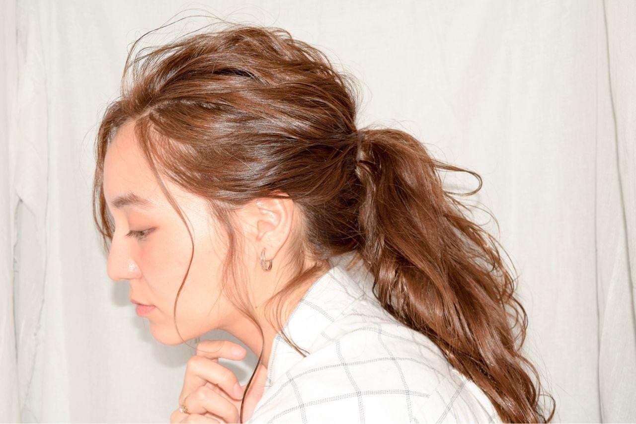 ヌケ感のあるヘアスタイル2