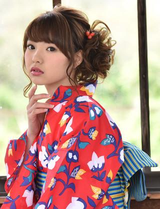 夏到来!浴衣に似合うヘアスタイル☆2