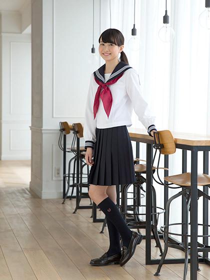 【ロング編】校則を守りながらもかわいい!シンプルヘアスタイル2