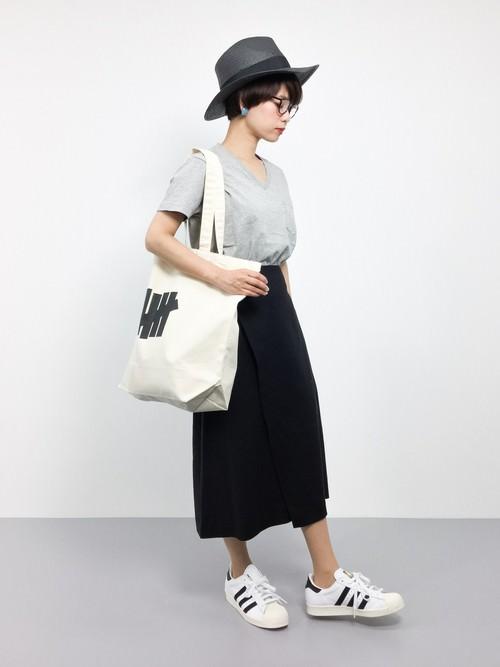 ラップスカートに似合うヘアスタイル☆5