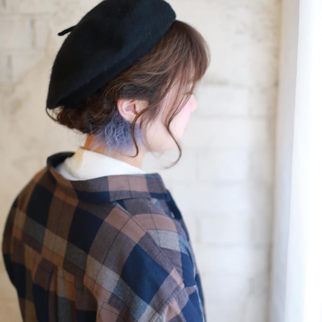 被るだけで可愛い☆ベレー帽に似合うヘアスタイル15選2