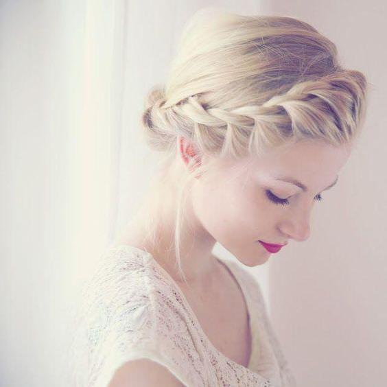 ロープ編みが可愛いヘアスタイルtop