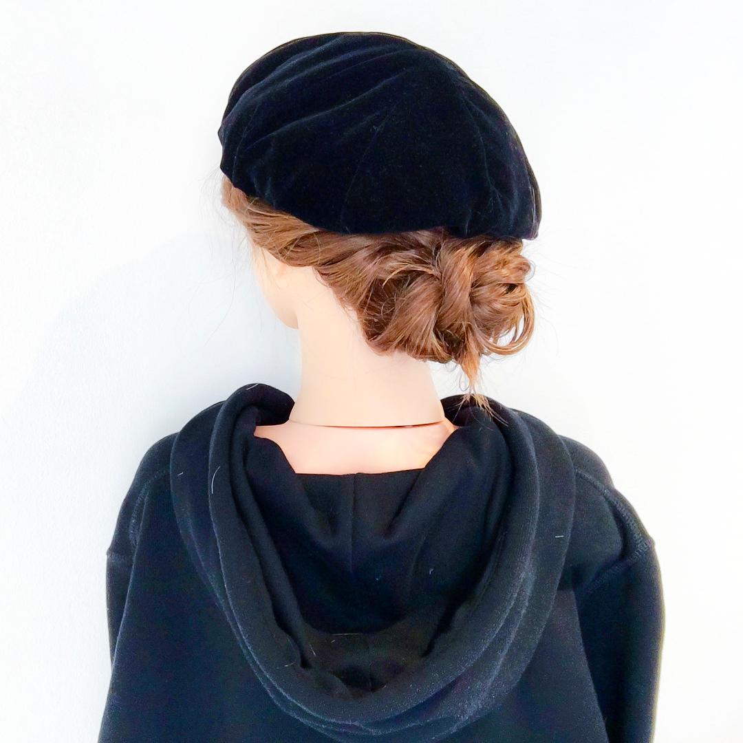 被るだけで可愛い☆ベレー帽に似合うヘアスタイル15選7