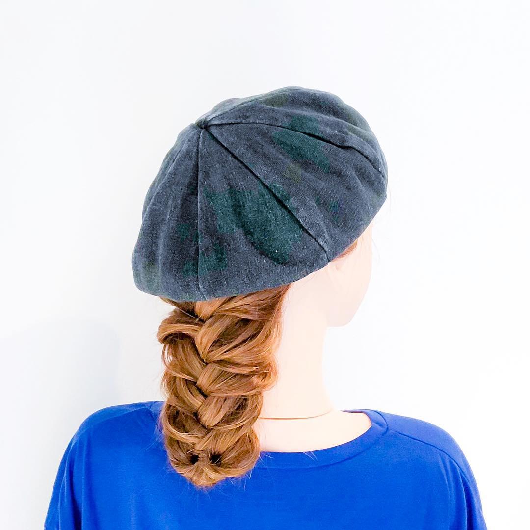 被るだけで可愛い☆ベレー帽に似合うヘアスタイル15選6