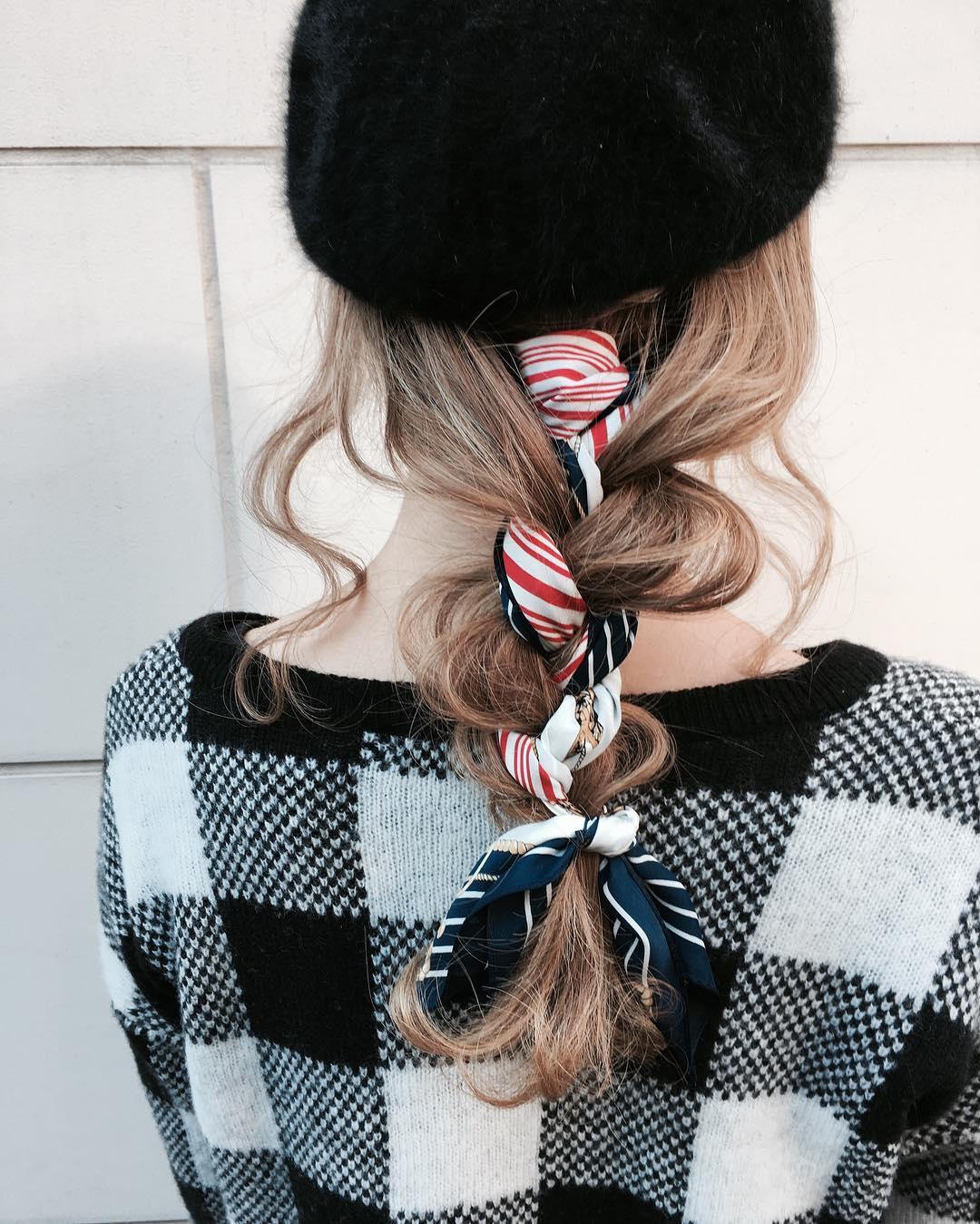 被るだけで可愛い☆ベレー帽に似合うヘアスタイル15選1