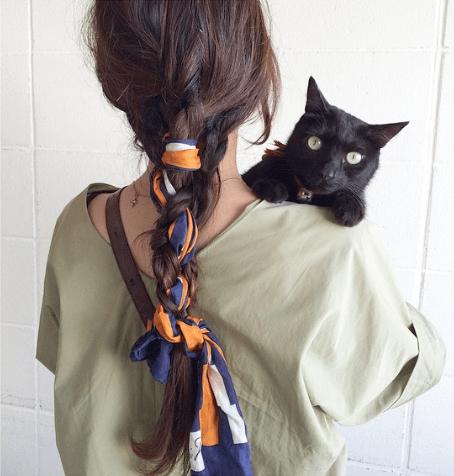 インスタ映えする可愛いヘアスタイル