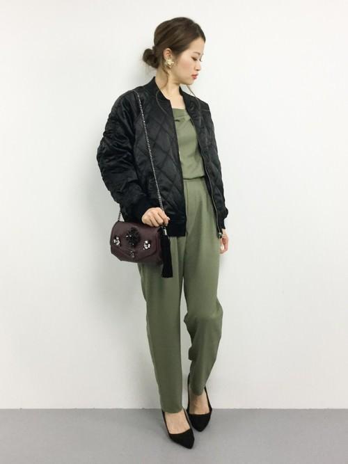 キルティングジャケットに似合うヘアスタイル4