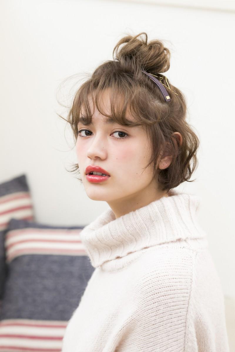 オシャレ可愛い♪話題のハーフアップお団子特集21選