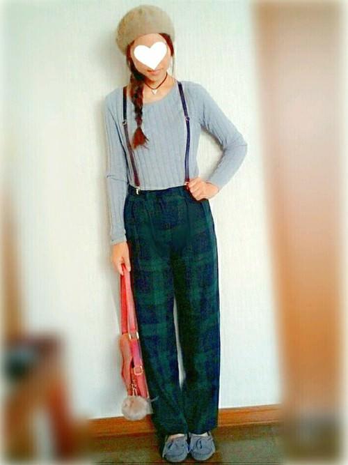 ユニクロの「ワイドリブセーター」の着まわし&ヘアスタイル5Days1
