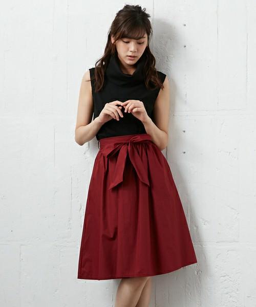 ウエストリボンスカートに似合うヘアスタイル4