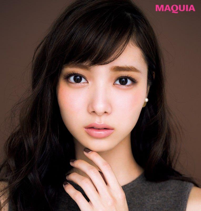 北川景子風ショコラメイクに似合うヘアスタイル5