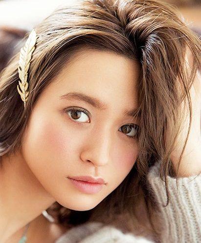 北川景子風ショコラメイクに似合うヘアスタイル★