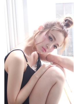 北川景子風ショコラメイクに似合うヘアスタイル3