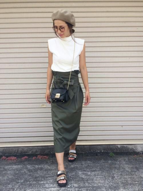 ウエストリボンスカートに似合うヘアスタイル2