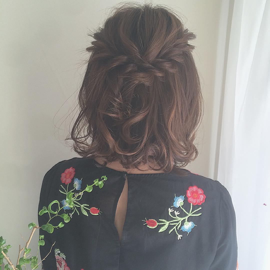 初めてのデートに好印象なヘアスタイルや髪型5