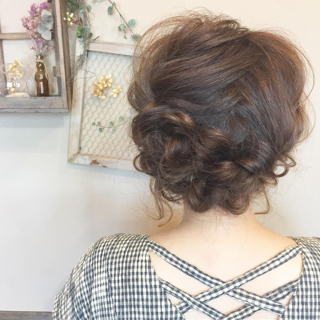 憧れの森絵梨佳さんみたいに♡おフェロなアップヘア