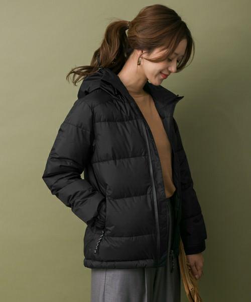 暖かくて上品に♪ダウンジャケットに似合うヘアスタイル1