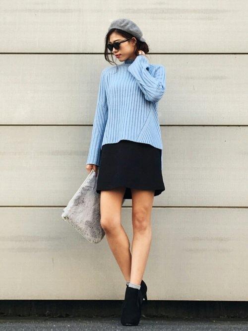ミニスカートに似合うヘアスタイル3