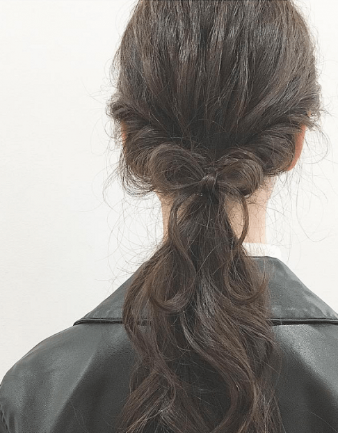 ヘアアクセ要らず!自分の髪で作る特別なスタイル☆