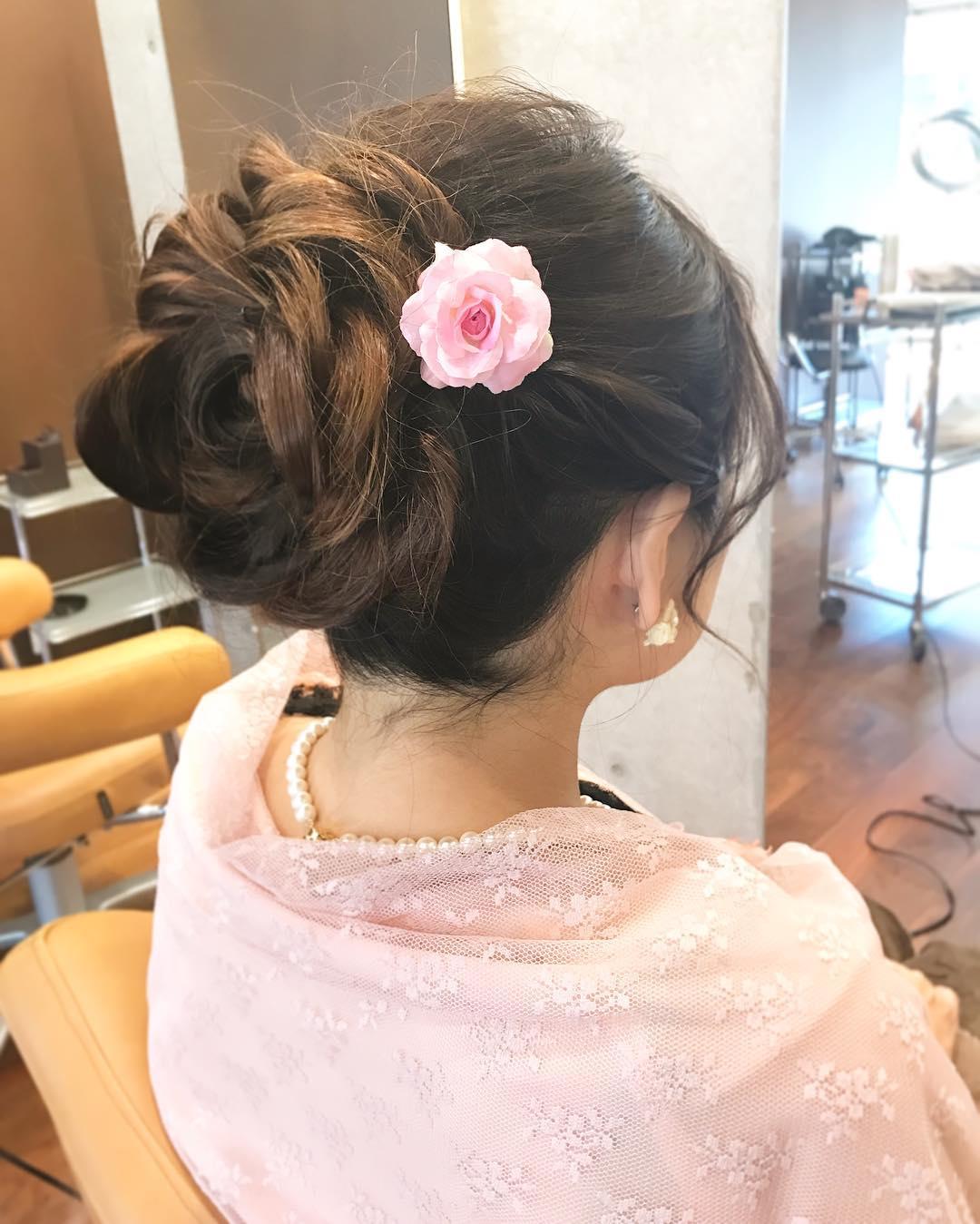 ヘアアクセ要らず!自分の髪で作る特別なスタイル☆3