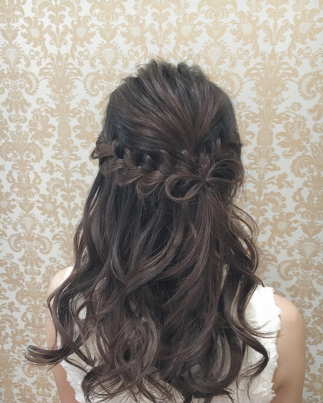 ヘアアクセ要らず!自分の髪で作る特別なスタイル☆2