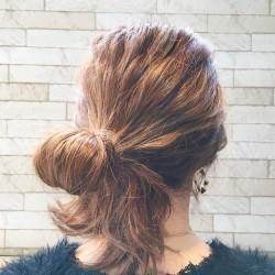 イベントに使える!自分の髪で作るリボンヘア2