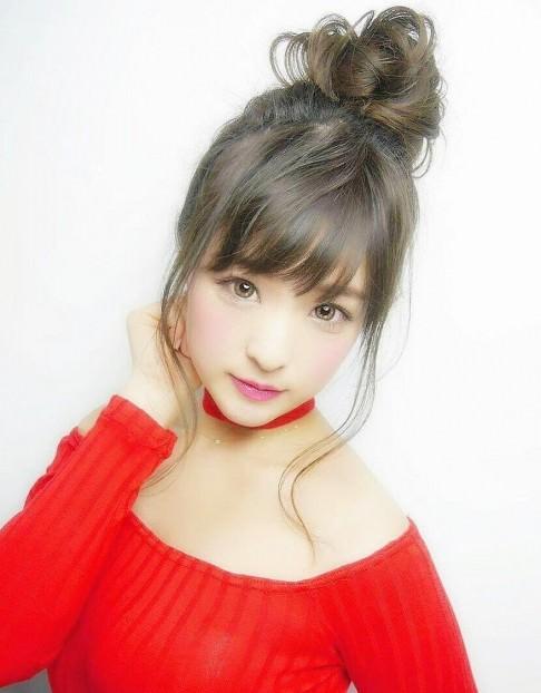 高めお団子のおすすめのヘアスタイル21選☆