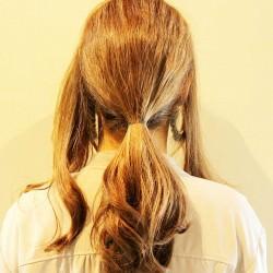 くるりんぱのまとめ髪をマスターしてオシャレ上級者♪1