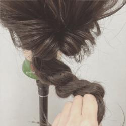 くるりんぱ×ロープ編みでこなれ感♪5