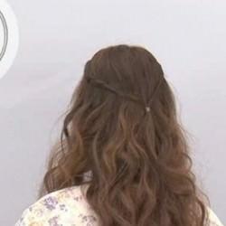 簡単!ツイスト前髪のやり方☆5