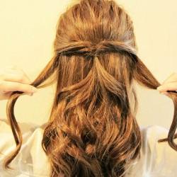 くるりんぱのまとめ髪をマスターしてオシャレ上級者♪3