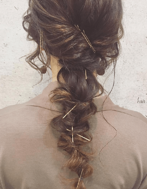 ロープ編みで作る!おすすめのヘアスタイル21選☆