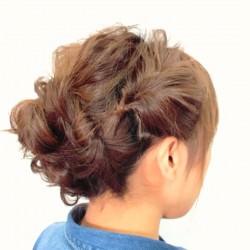 くるりんぱの応用編!ロングヘアーのまとめ髪アレンジ5