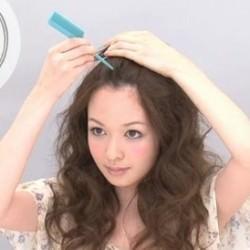 簡単!ツイスト前髪のやり方☆1