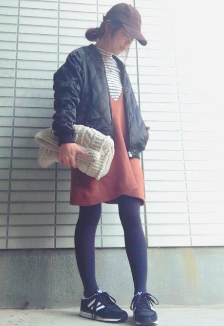 大人かわいく♪ジャンパースカートコーデに似合うヘアスタイル1