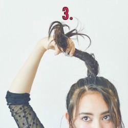 おしゃれでお嬢な最強おだんごヘアアレンジ♡3