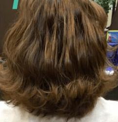 長い前髪でつくる!キュートな編み込みアレンジ1