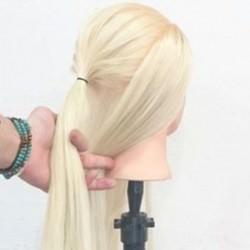 黒髪だから出来る!ポニーテールから始めるシンプルアレンジ☆1