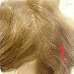 ショート~ミディアムヘアにオススメのロープ編みアレンジ1