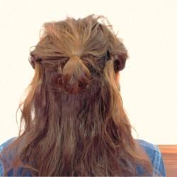 くるりんぱの応用編!ロングヘアーのまとめ髪アレンジ3