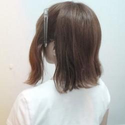 短い髪でも出来る!ハーフアップアレンジ♪2