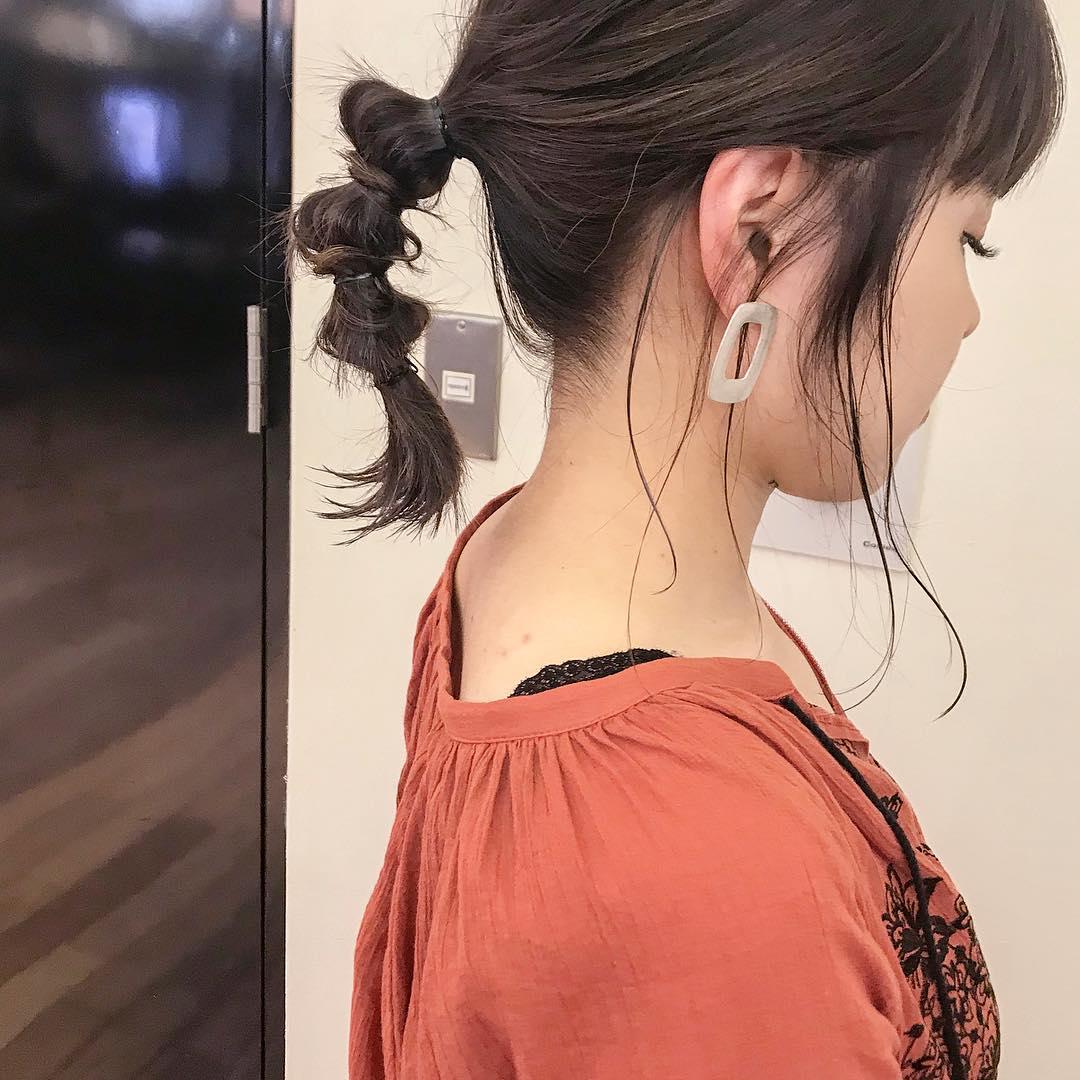 アレンジと言えばポニーテール!超簡単なポニーテールのおすすめヘアスタイル☆10