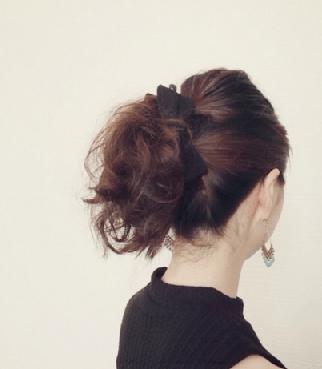 超簡単なポニーテールのおすすめヘアスタイル☆15