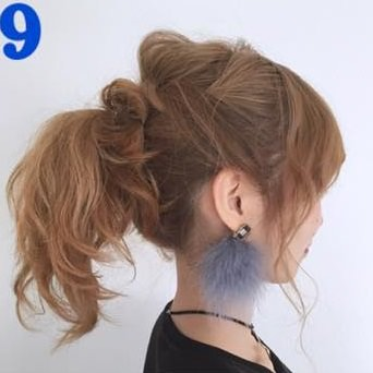 アレンジと言えばポニーテール!超簡単なポニーテールのおすすめヘアスタイル☆2