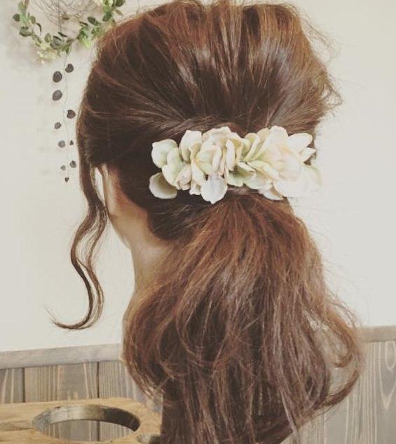 髪の長さ別☆ポニーテールのおすすめのヘアスタイル☆2