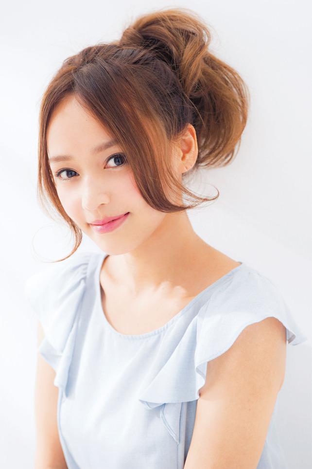 超簡単なポニーテールのおすすめヘアスタイル☆19
