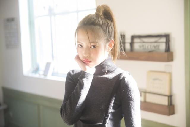 超簡単なポニーテールのおすすめヘアスタイル☆14