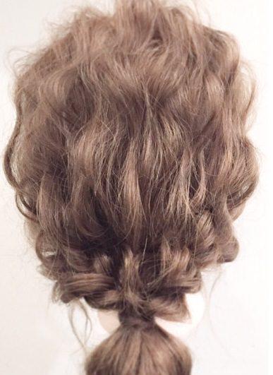 超簡単なポニーテールのおすすめヘアスタイル☆22