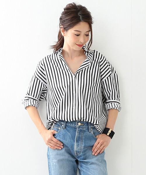 注目の抜き襟に似合うヘアスタイル2))